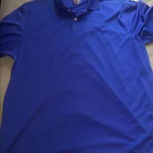 3 for 45  Used Blue Adidas climate cool golf shirt